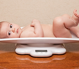 Baby Weighing
